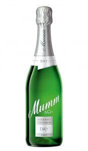 Mumm Dry Jahrgangssekt; Bild: Godefroy H. von Mumm & Co. Sektkellereien GmbH