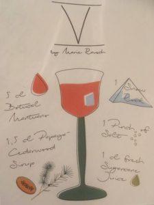 """Konzeptskizze von """"V"""" vom Marie Rausch; Bild: Marie Rausch"""
