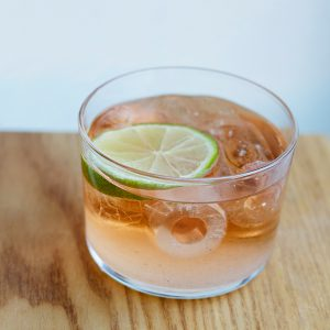 Norwegian Old Fashioned; Bild: Linie AquavitNorwegian Old Fashioned; Bild: Linie Aquavit